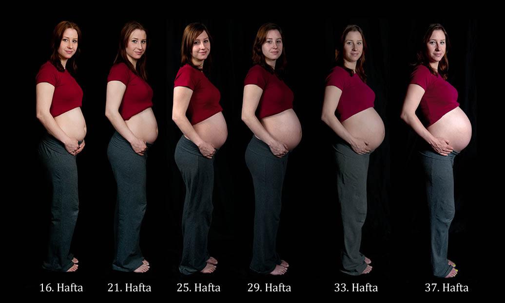 Gebelikte (hamilelikte) anne karnı ne zaman büyür? (Resimli)